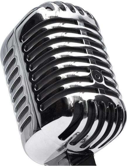 Micrófono Sist Dinámico Profesional De Estudio Vintage Xaris