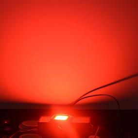 Super Led Chip 20w - Vermelho