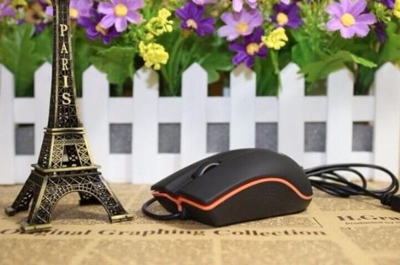 Mouse Lenovo Com Fio Usb 2.0 Óptico Pc Notebook Computador