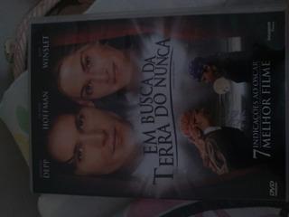 Dvd Filme (em Busca Da Terra Do Nunca)