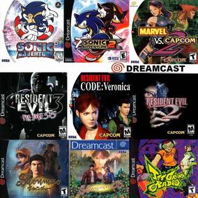 Patchs Dreamcast Títulos A Escolha Pacote Com 5 Jogos