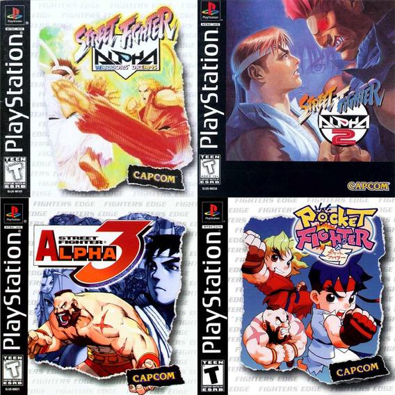 Street Fighter Alpha 1, 2 Y 3 + Pocket Fighter Para Ps3