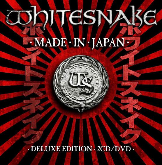 Whitesnake - Made In Japan [2cd+dvd] Importado Lacrado Origi