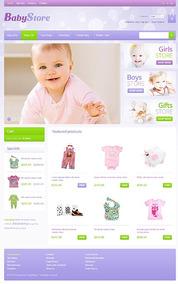 Site Para Loja De Bebe, Infantil, Baby - Oscommerce Mod41323