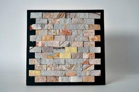 Mallas Decorativas Recubrimiento Piedra Arcoiris Natural