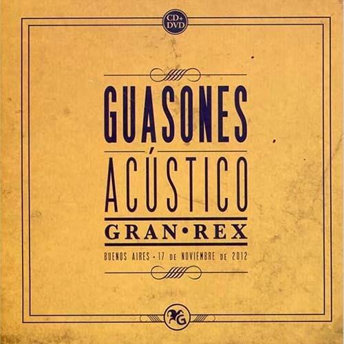 Guasones Acustico Gran Rex Cd + Dvd Nuevo Sellado