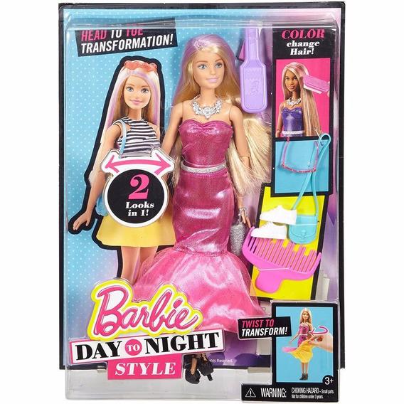 Boneca Barbie Boneca Barbie Fashion Estilo Dia E Noite Dmb30
