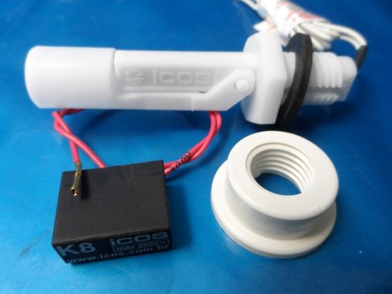 Sensor De Nível Água Orig Eicos+ 1 Filtro K8+ Adpt P/ Pvc