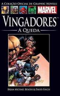 Vingadores A Queda Salvat Marvel Hq Capa Dura Avengers