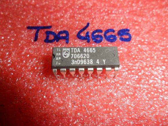 4665 - Tda4665 - Tda 4665 Circ. Integr. Tda 4665 (2 Unid.)