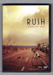 Dvd Rush Working Men En Perfecto Estado