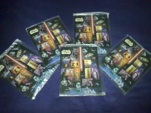 Imagen 1 de 6 de Planilla De Timbres Conmemorativos Star Wars