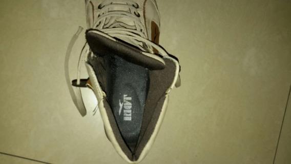 Zapatillas De Cuero Riot Tipo Botita