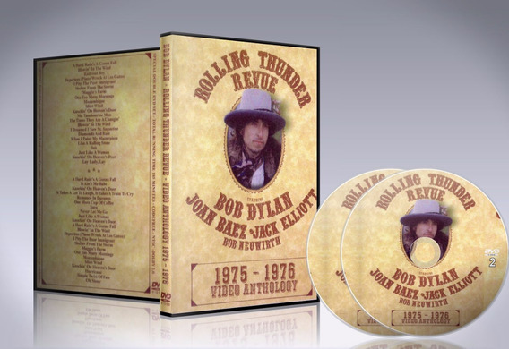 Dvd Bob Dylan Rolling Thunder Review - Video Anthology 75-76