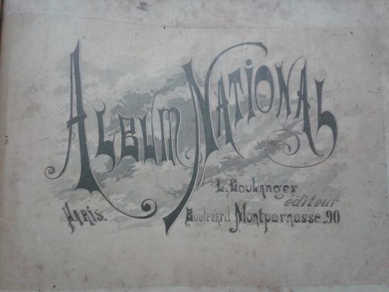 Antigo E Raro Livro Album National Paris - L. Boulanger