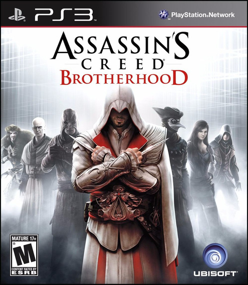Assassins Creed Brotherhood Ps3 | Mídia Física Original