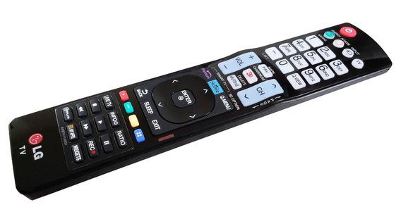 Cont Remoto LG Teclas Smart Rec Premium Original Akb74115501