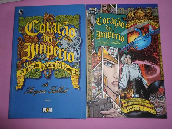 Hq Coração Do Império Vol. 1 E 2 Dark Horse Encadernados