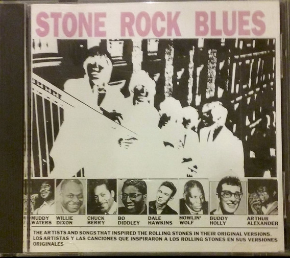 M Waters C Berry H Wolf B Holly Stone Rock Blues Stones Cd