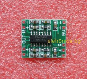 Pam8403 Amplificador 3w + 3w Pam 8403 Kit Com 3 Peças