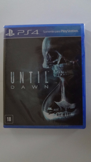 Until Dawn Ps4 Novo E Lacrado
