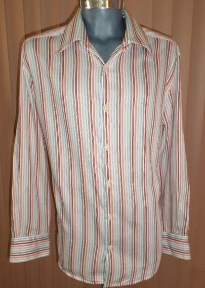 Liquidacion Claiborne Camisa Extra Grande 100% Algodon
