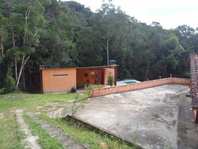 Juquitiba/bela Chácara Fundos Represa/piscina/ref: 03985