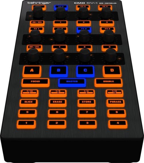 Controlador P/ Decks Efeitos Cues Behringer Cmd Dv