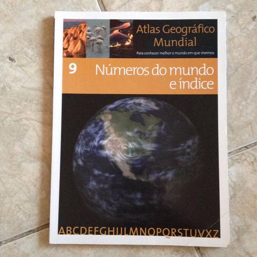 Atlas Geográfico Mundial 9 Números Do Mundo E Índice S2