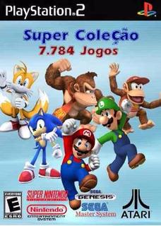 16123 Jogos De Super Nintedo Mega Nes Atari Para Play2 Pc Fr