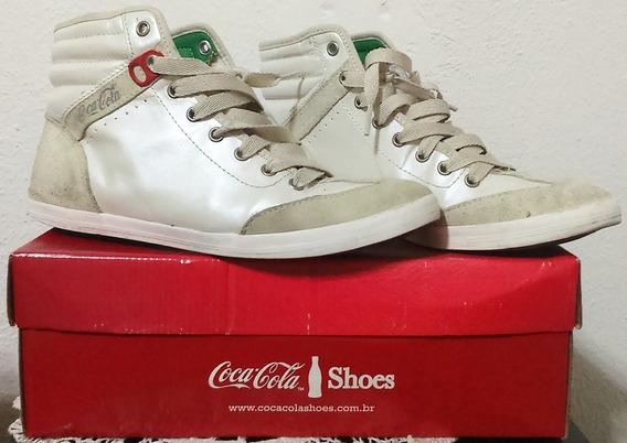 Tênis Coca-cola Shoes Montreal Pérola Verde 39
