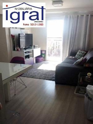 Apartamento Residencial Em Diadema - Sp, Centro - Ap02281
