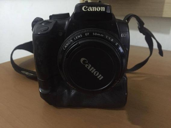 Canon Xti 400d Com Grip Só Corpo (sem Lente)
