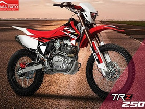 Moto Axxo Trz 250 Año 2017 Blanco, Rojo, Negro 250cc