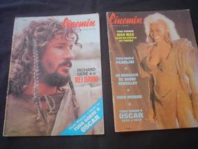 Revistas Cinemin - Lote C/ 10 -só 145 Todas - 5a Série 1985