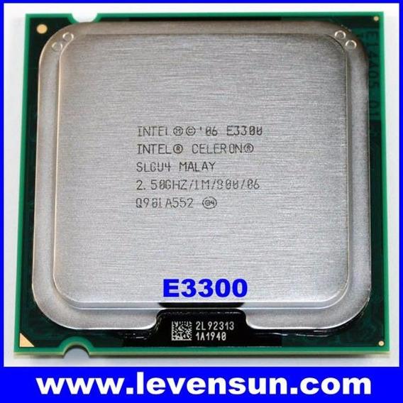 Processador Intel Celeron E3300 / 2 Nucleo 775 / 2.5/1m/800