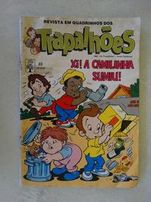 Os Trapalhões Nº 33! Editora Abril Ago 1990!