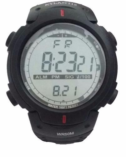 Relógio Atlantis Masculino Sport Mod.7330g