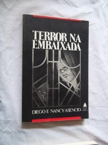 * Livro - Terror Na Embaixada - Literatura Nacional