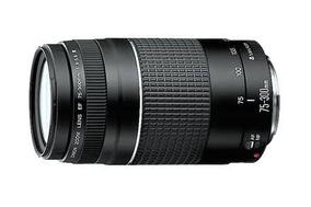 Lentes Canon 75-300mm F/4-5.6iii
