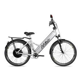 Bicicleta Elétrica Woie Silver Fabricada No Brasil - Prata