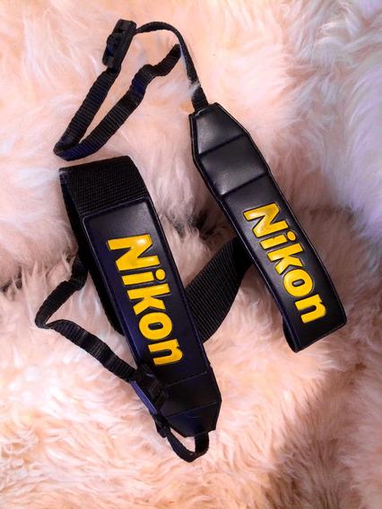 Alça Para Câmera Vintage Strap Colecionável Nikon