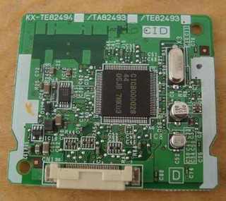 Tarjeta Panasonic Identificador Llamadas 3 Lineas Kxte82494x