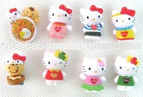 Hello Kitty Kit Festas Decoração De Aniversários 8 Bonecas
