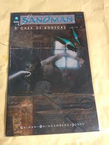 Hq Sandman A Casa Das Bonecas Parte 2 - Editora Globo