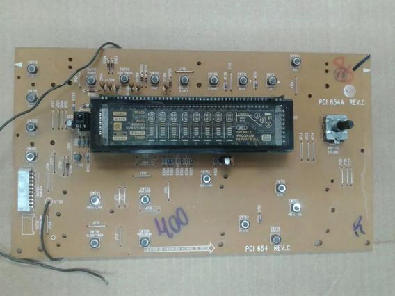 Pci-654a Rev.c - Placa Frontal Som Gradiente As-400