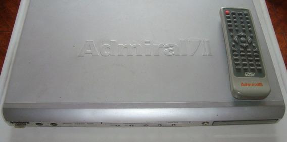 Dvd Reproductor Admiral Como Nuevo - Vendo O Cambio