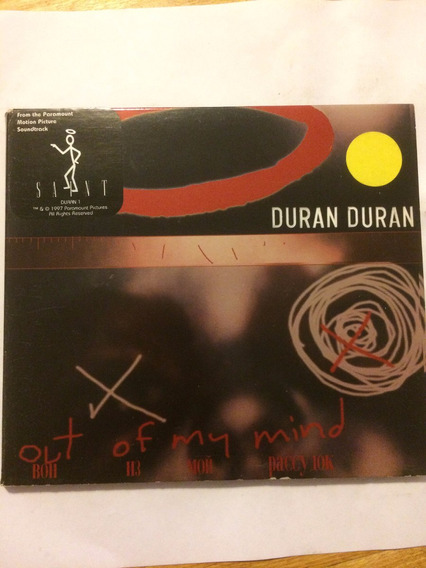 Duran Duran Out Of My Mind Cd Simple Doble Uk