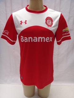 Camisa Futebol Do Toluca - Under Armour Banamex Corona Yf1