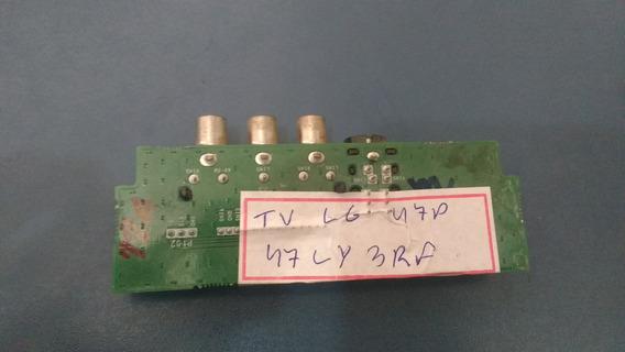 Placa Av Lateral Tv Lg 47ly3rf